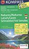 Kompass Wanderkarte WK 051 Naturns - Latsch - Schnalstal.